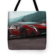 Lamborghini Veneno Tote Bag