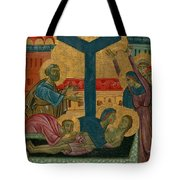 Lamentation Of The Dead Christ Tote Bag