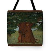 Hugging The Wisdom Tote Bag