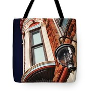 Lamp And Building Details  Tote Bag