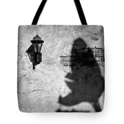 Lamp And Leaf Tote Bag