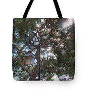 Lamp And Tree Tote Bag