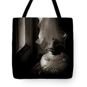 Lamp By The Window Tote Bag