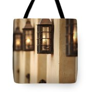 Lamp Light Tote Bag