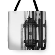 Lamp On The Wall Tote Bag