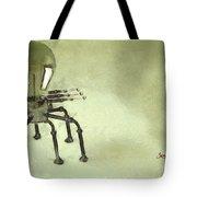 Lampbot Tote Bag