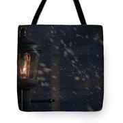 Lamppost Tote Bag