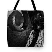 Lamppost Of Passeig De Gracia Tote Bag