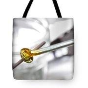 Lampwork Glass Bead Tote Bag