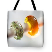Lampwork Glass Beads Tote Bag