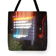Lancaster Genral Emergency Room Tote Bag