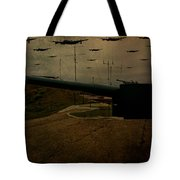 Lancasters Over Newhaven March 30th 1944 Tote Bag
