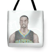 Lance Stephenson Tote Bag by Toni Jaso