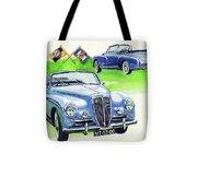 Lancia Aurelia B50 Tote Bag
