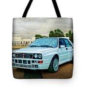 Lancia Delta Hf Integrale Evoluzione Tote Bag