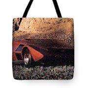 Lancia Stratos Zero Tote Bag
