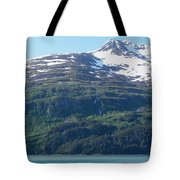 Land And Sea In Whittier Tote Bag