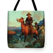 Land Beyond The Law Tote Bag
