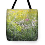 Land Of Flowers Tote Bag
