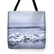 Land Of Ice Tote Bag