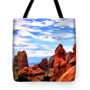 Land Of Moab - Watercolor Tote Bag