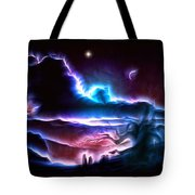 Land Of Nightmares Tote Bag