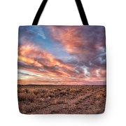 Land Of Sagebrush And Wild Horses Tote Bag