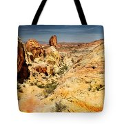 Land Of Sandstones Valley Of Fire Tote Bag
