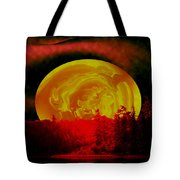 Land Of The Living Skies Tote Bag