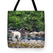 Land Of The Spirit Bear Tote Bag