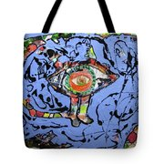 Land Of Tropical Purple Tote Bag by David Sutter