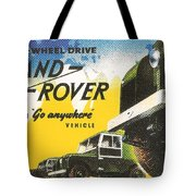 Land Rover Tote Bag