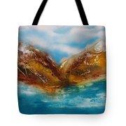 Land Sea And Air  Tote Bag