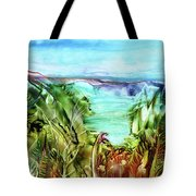 Land Sea And Sky Tote Bag