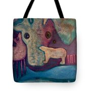 Land, Sea, Sky - We Are Interdependent Tote Bag