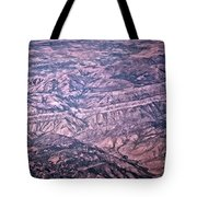 Land Structure Tote Bag