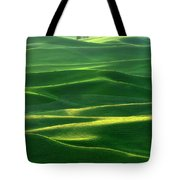 Land Waves Tote Bag
