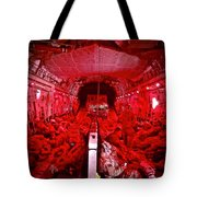 Landing At Kandahar Tote Bag