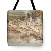 Landing Place Near Tintern Abbey Tote Bag