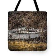 Landlocked Marina  Tote Bag
