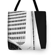Landmark Square Facade Tote Bag