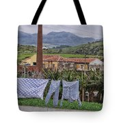 Landry On The Line Tote Bag