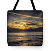 Lands End Sun Set  Tote Bag