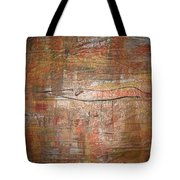 Landscape - Gold Tote Bag