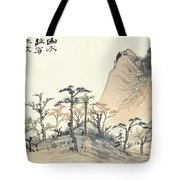 Landscape Album Tote Bag