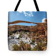 Landscape Arch - Arches National Park Moab Utah Tote Bag