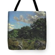 Landscape At Chailly Tote Bag