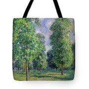 Landscape At Sevres Tote Bag