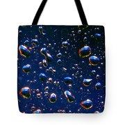 Landscape Bubbles Tote Bag