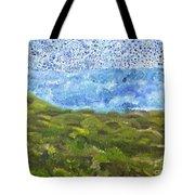 Landscape Dots Tote Bag